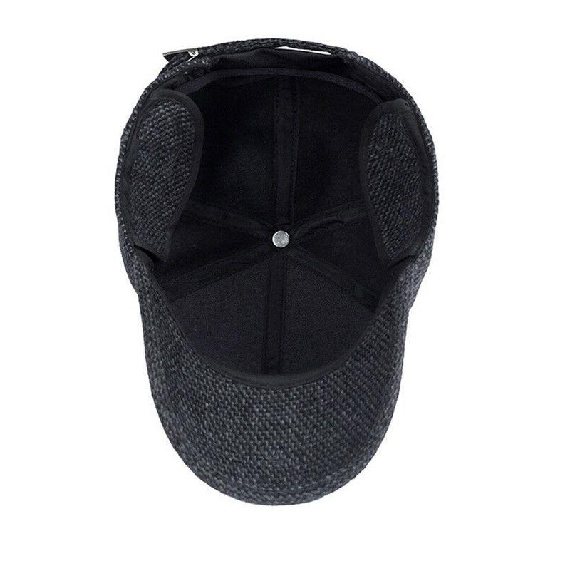 Plaid Knitted Design Cap Ear Flaps Winter AET5000MM