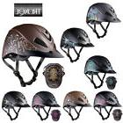 profile western horse riding helmet