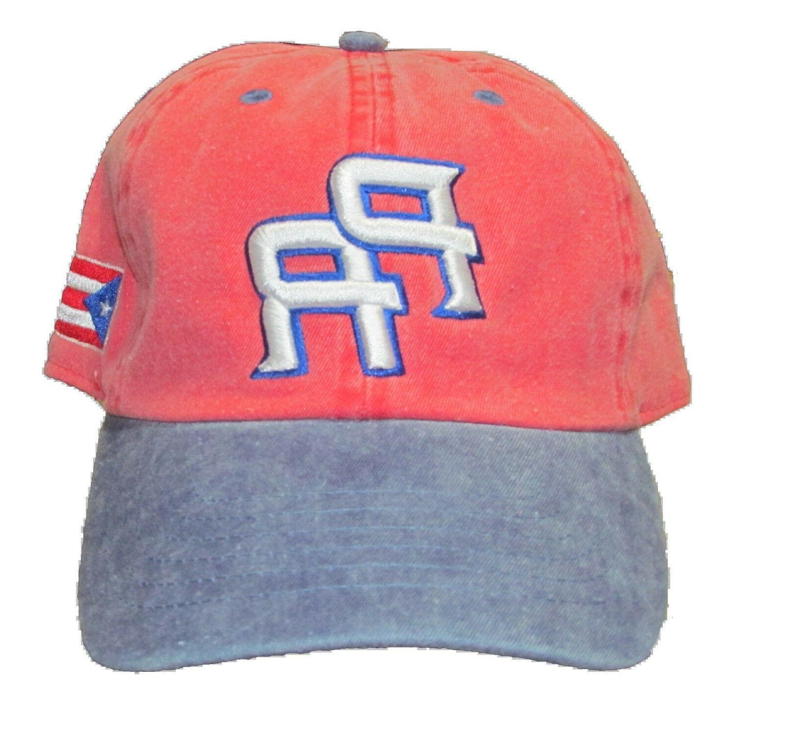 Puerto Rico Dad Baseball Style Profile Embroidered