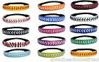 Softball Headbands U PICK COLOR or Yellow Leather Seam Sport