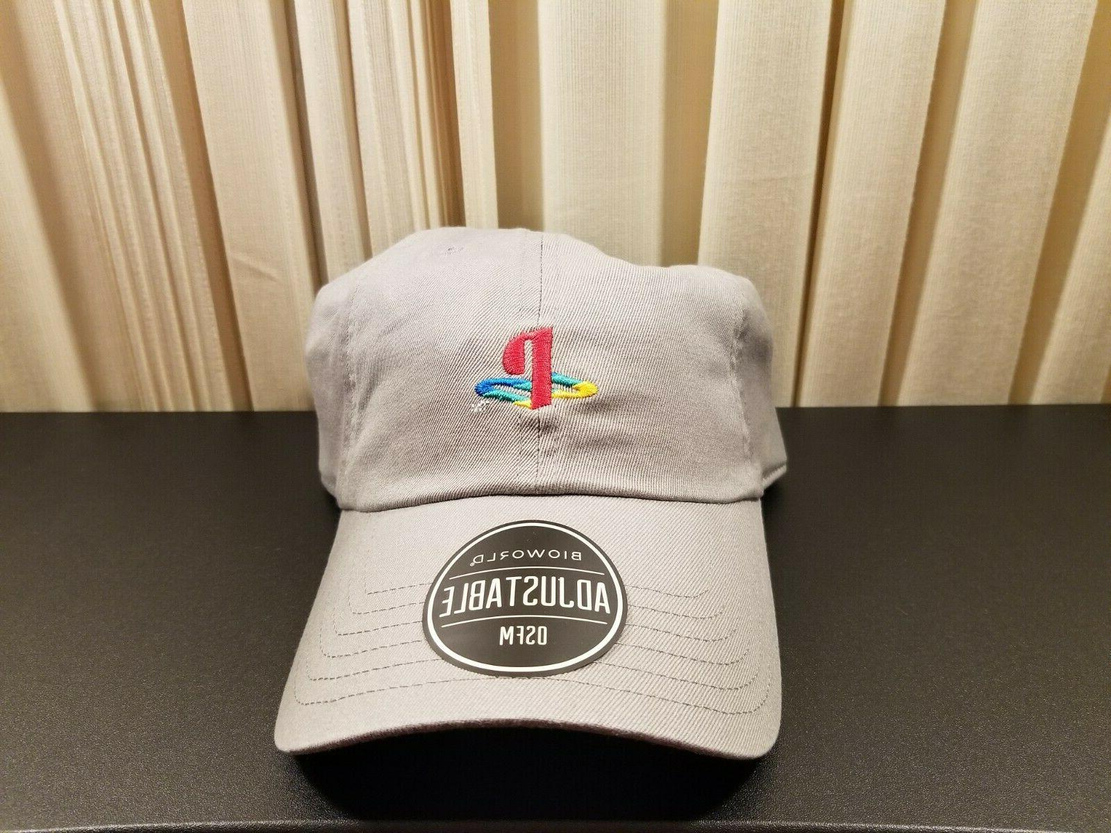 sony playstation dad hat embroidered ps4 dad