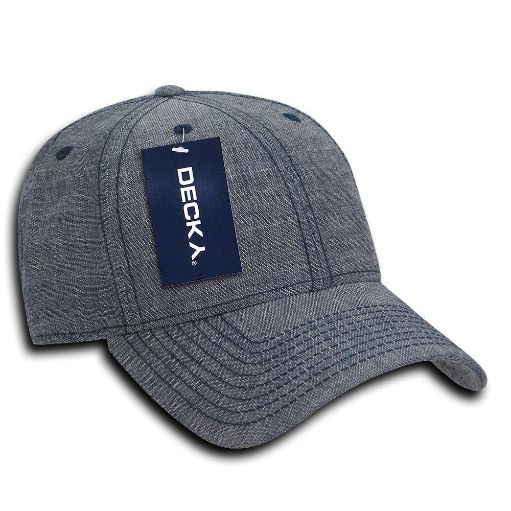 DECKY Structured Low Curved Bill Dad Hats
