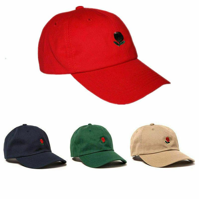 The Dad Flower Embroidered Baseball Cap Hat
