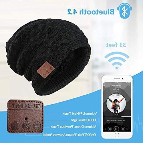 Muscleboon Knit Bluetooth Unique Tech for Stuffer w/Built-in Speakers SB