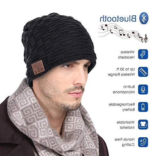Muscleboon Upgraded Knit Bluetooth Unique Christmas for Boys/Girls Stuffer Stereo SB