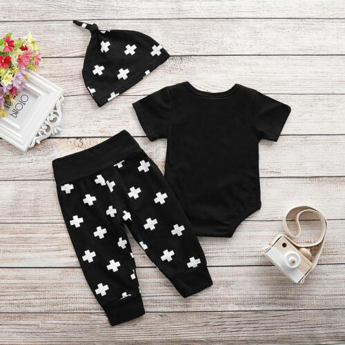 Newborn Baby Girl Clothes Shirt Romper Bodysuit Outfits