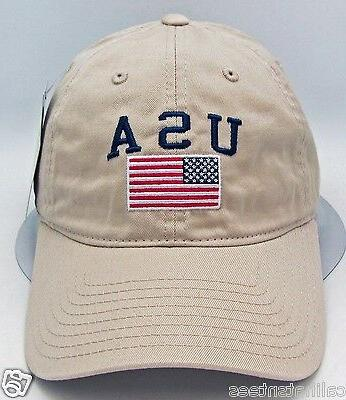 usa american flag cap us military unconstructed