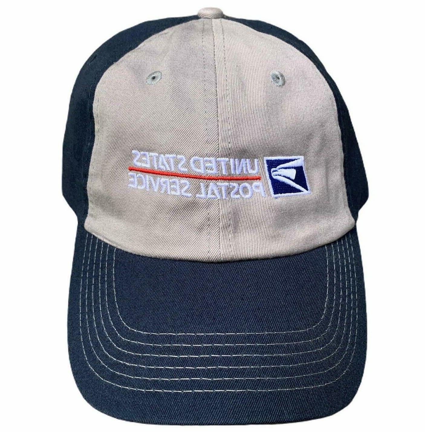 USPS Color Adjustable States Service Blue and