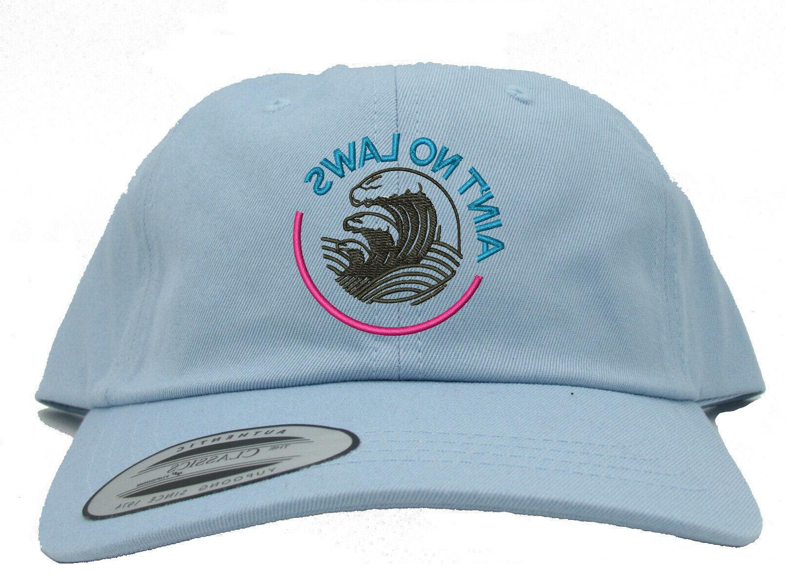 White Claw Laws When Drinking Claws Summer Embroidered Dad Hat