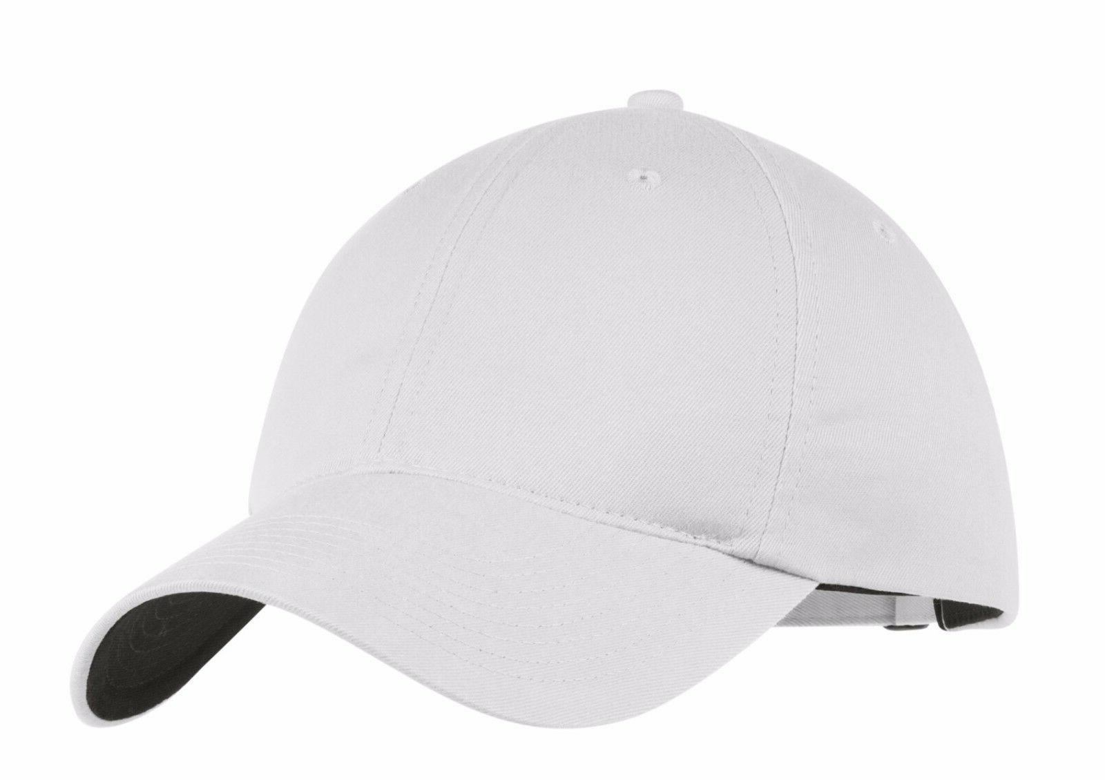 white golf new adjustable fit swoosh on