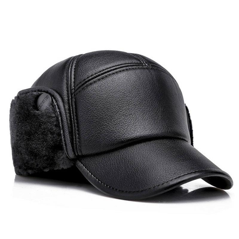winter baseball cap men outdoor warm