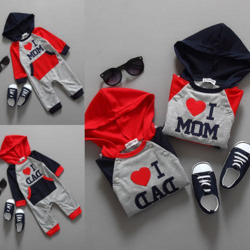 Newborn Hooded Romper Jumpsuit Clothes One Warm