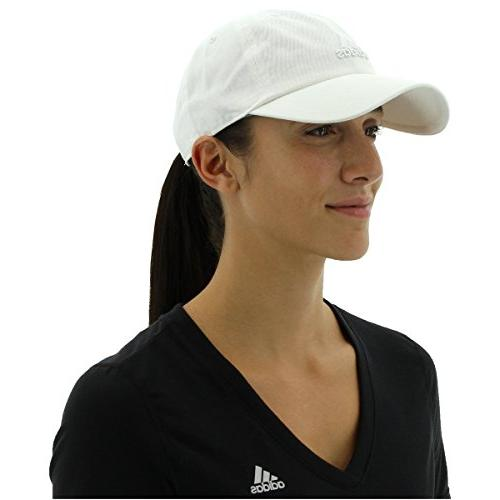 adidas Women's Adjustable Cap, White/White, Size