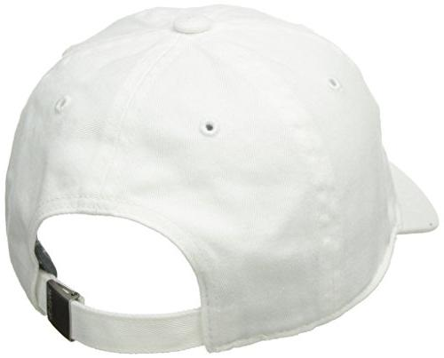 adidas Women's Saturday Adjustable Cap, White/White, Size