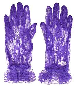 Purple Lace Gloves / Red Hat Ladies Society / Birthday Girl