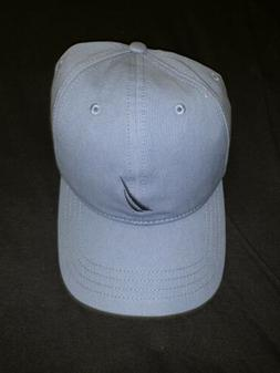 Nautica Logo Relaxed Fit Dad Cap Hat Light Blue Adjustable S