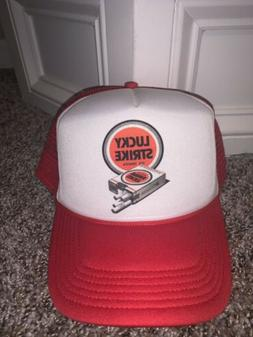 Lucky Strike Hat Dad Retro 80's Dvd shirt Collectable metal