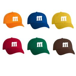 M & M Halloween Costume Dad Hat Cap M and M Group Hats Costu