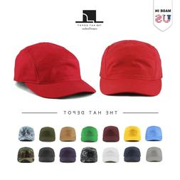 Cotton Hat -  5 Panel Running Unstructured Outdoor baseball