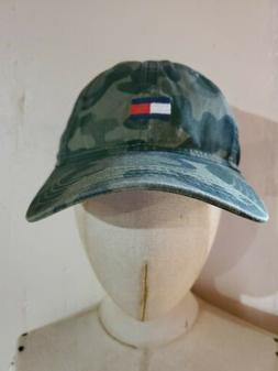 Tommy Hilfiger Men's Ardin Dad Baseball Cap Camo 100% Cotton