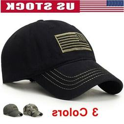 Men's Baseball Cap Tactical Army Cotton Military Dad Mesh Ha