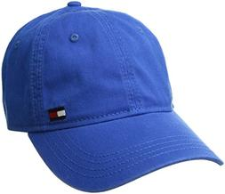 Tommy Hilfiger Men's Dad Hat Billy Corner Flag Cap, Nautical
