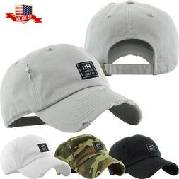 Men's Dad Hat Hustle Patch Baseball Cap Cotton Vintage Adjus