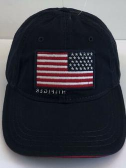Tommy Hilfiger Men's Flag Dad Hat One Size Tommy USA Navy
