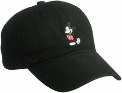 Disney Men's Mickey Washed Twill Baseball Cap, Adjustable, B