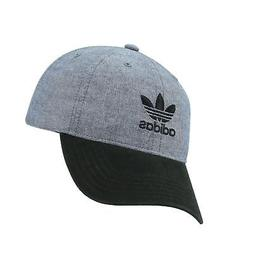 adidas Men's Originals Relaxed Fit Strapback Cap, One Size B