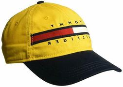 Tommy Hilfiger Mens Ardin Dad Baseball Cap 100% Cotton Yello