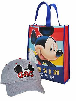 cb4472ec4 Mens Mickey Mouse Dad Hat with Reusable ... By Disney