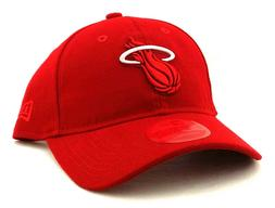 Miami Heat New Era 9Twenty Dad Slouch Clean Up Colors Red St