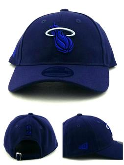 Miami Heat New Era 9Twenty Dad Slouch Clean Up Color Navy Bl