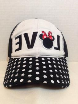 Disney Minnie Mouse Love Women's Embroidered Baseball Cap/Ha