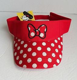 Disney - Minnie Mouse -  Red Women's Minnie Polka Dot Bow Vi