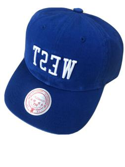 mitchell and ness branded west royal blue