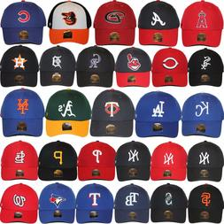 47 Brand MLB Logo Team Colors MVP Strapback Adjustable Baseb
