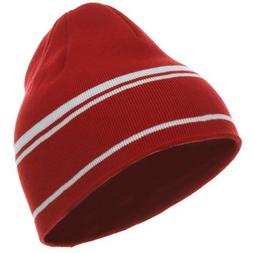 Moisture Wicking Beanie - Red White