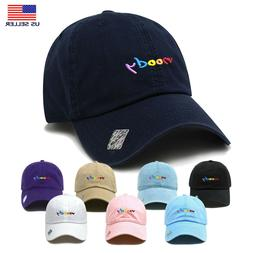 Moody | Dad Hat Cotton Baseball Cap Polo Style | Low Profile