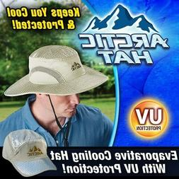 New As Seen On TV Arctic Evaporative Cooling Hat One Size Fi