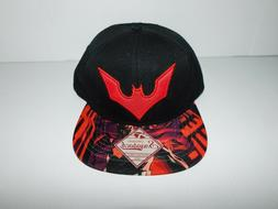 New BioWorld Batman Embroidered Snapback Hat