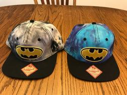 New BioWorld Batman Embroidered Snapback Hats