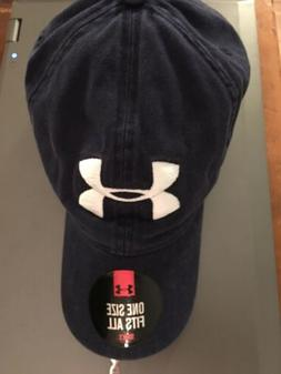 Under Armour New Blue Hat - Relaxed Fit Baseball Slouch Cap