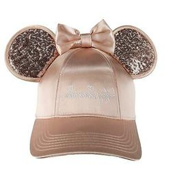 New Jerry Leigh Disney Women's Minnie Mouse Baseball Cap wit