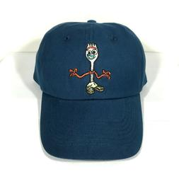 new FORKY TOY STORY 4 DAD HAT navy blue low profile disney p