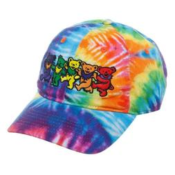 NEW Grateful Dead Tie Dye Dad Cap Hat Adult Size Curved Bill