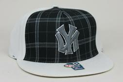 New York Yankees Black Plaid White American Needle Coopersto