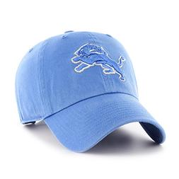 NFL Detroit Lions OTS Challenger Adjustable Hat, Blue Raz, O