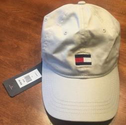 NWT Tommy Hilfiger dad hat w/ embroidered flag logo adjustab